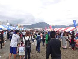 焼津市民のお楽しみ、みなとまつり!