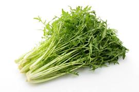 旬の食材「水菜」のだしレシピ~カリカリ豚バラと水菜のにゅうめん~