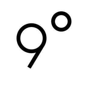 「9°」のご紹介<br>