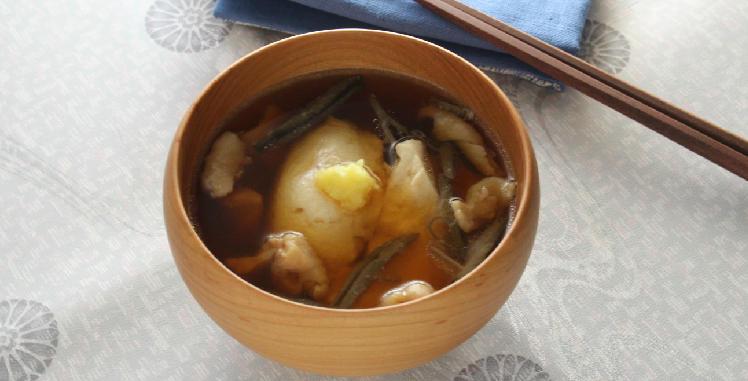 秋田の豆腐汁
