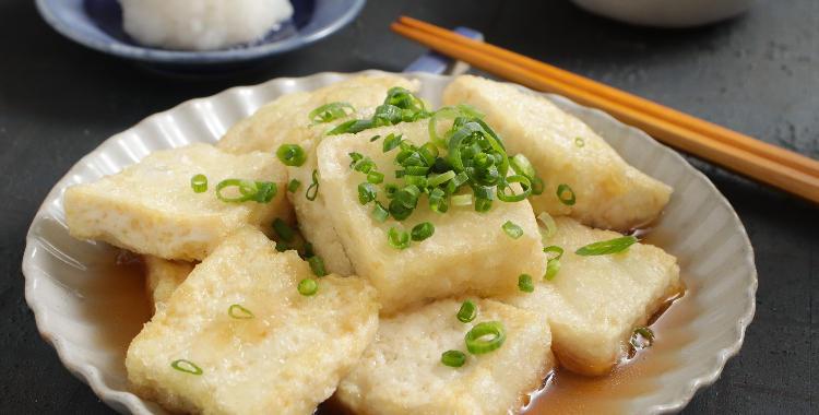 だし香る揚げ出し豆腐