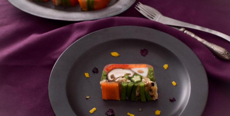 野菜とあさりのテリーヌ