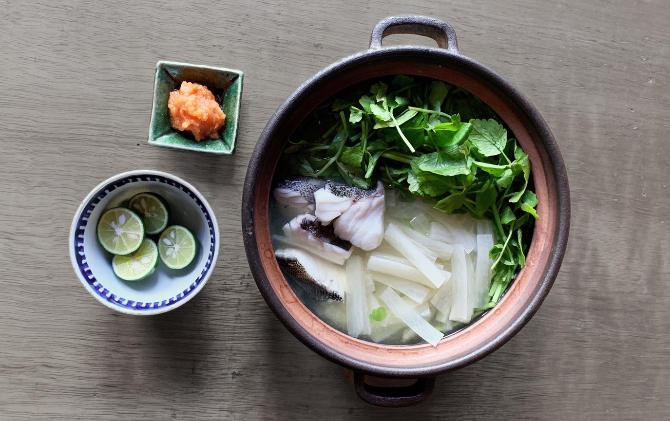 ICHIKAWA'S RECIPE 鱈と大根の香りだし鍋