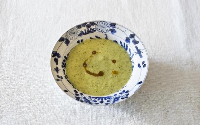 鰹だしが冬野菜の甘さを引き出す ブロッコリーのだしポタージュ