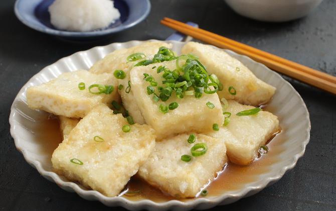 中村さん家の だし香る揚げ出し豆腐