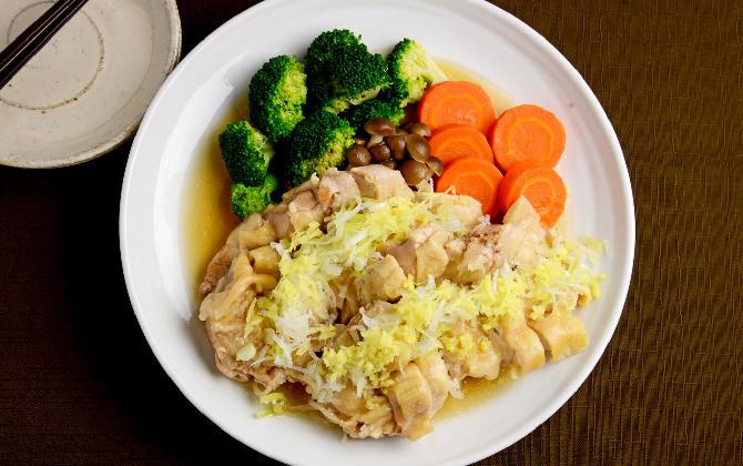 JUNAさん家の 鶏肉のだし煮 トロトロあんかけ