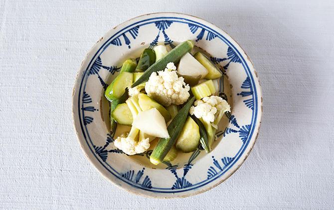 サラダ感覚でたくさんの野菜を だしピクルス